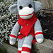 Smungkee Bean the Sock Monkey pattern