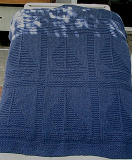 Come Sail Away baby blanket