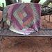 Wacky Weave Log Cabin pattern