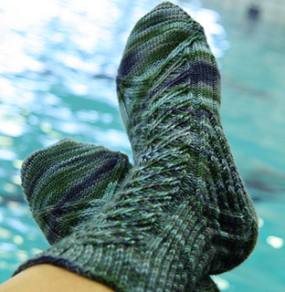 Sunday Morning Spina di Pesce Socks