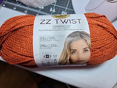 Lion Brand ZZ Twist Yarn-Silver