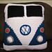 VW Van Pillow pattern