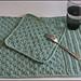 March C2C Dishie Plus Placemat pattern