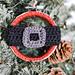 Santa Belt Ornament pattern