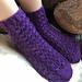Petal Pusher Socks pattern