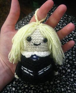 Ravelry: Amigurumi Doll 'Snowflake' pattern by Crochet Cute Dolls | 320x259