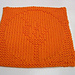 Olympic Flame Dishcloth pattern