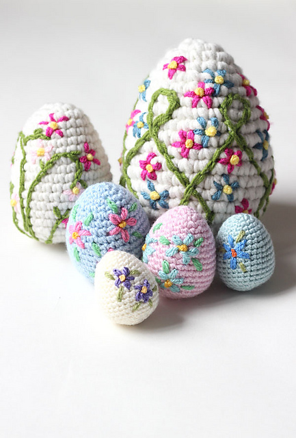 Free Easter Crochet Patterns to Make - Crafty Morning | 640x433