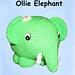 Ollie Elephant pattern