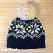 Snowflake Knit Look Hat pattern