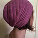 Never-Ending Spiral Slouch Hat pattern