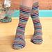 Speed Bump Socks pattern
