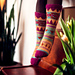Aztec Socks pattern