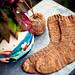 Golden Hour Socks pattern