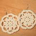 Rosette earring pattern