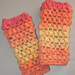 Puffing Warm Fingerless Gloves pattern
