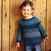 Brioche Toddler Sweater pattern