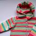 Little Peach Baby Cardigan pattern