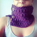 ACCRO cowl pattern