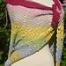 Bubblegum shawl pattern