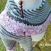 Granite & Quartz shawl pattern