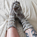 Almost the same socks pattern