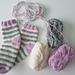 Ice cream socks pattern