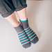 Hard candy crochet slippers pattern