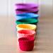 Rainbow Nesting Baskets pattern