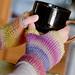 Spring Sunrise Fingerless Gloves pattern
