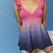 Gradient Summer Dress pattern