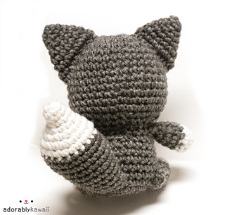 Amigurumi «The Wolf and the Dog» Сrochet pattern PDF. Tutorial. 2 ...   305x320