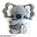 Koala Amigurumi pattern