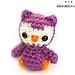 Tiny Owl Amigurumi pattern