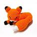 Mini Sleepy Fox Amigurumi pattern