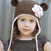 Monkey Earflap Hat pattern