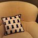 TARDIS Print Pillow pattern