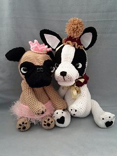 Alin amigurumi - Bulldog Francés Patrón de I. Tyler... | Facebook | 320x240