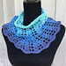 Turquoise Sea Summer Cowl pattern