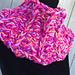 Color Pop Cowl pattern