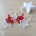 Jolis flocons pour Noël / snowflake pattern