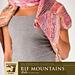 Rif Mountains Stole pattern