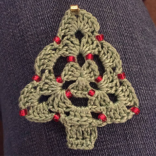 Beaded Christmas Ornaments Patterns.Beaded Christmas Tree Ornament Pattern By Aimee Hansen