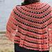 Phoenix Rising Shawl pattern