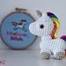 Tiny unicorn amigurumi pattern