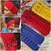 Crochet Texture Headband pattern