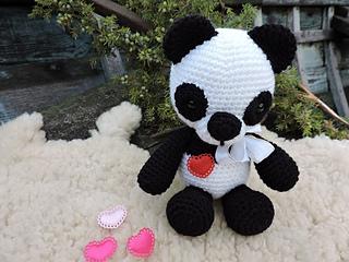crochet panda pattern   Son's Popkes   240x320