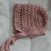 Heirloom Bonnet pattern