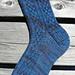 Celtic Denim Sock pattern