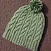Staggered Cable Rib Beanie pattern